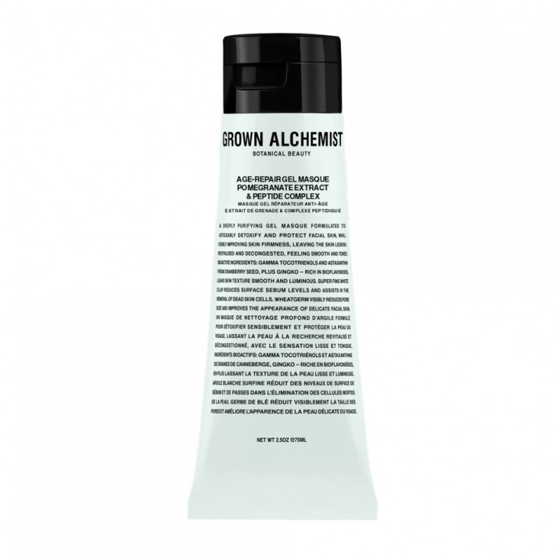 AGE-REPAIR GEL MASQUE: POMEGRANATE EXTRACT & PEPTIDE COMPLEX