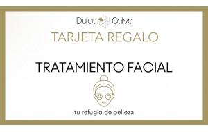 Tarjeta tratamiento facial
